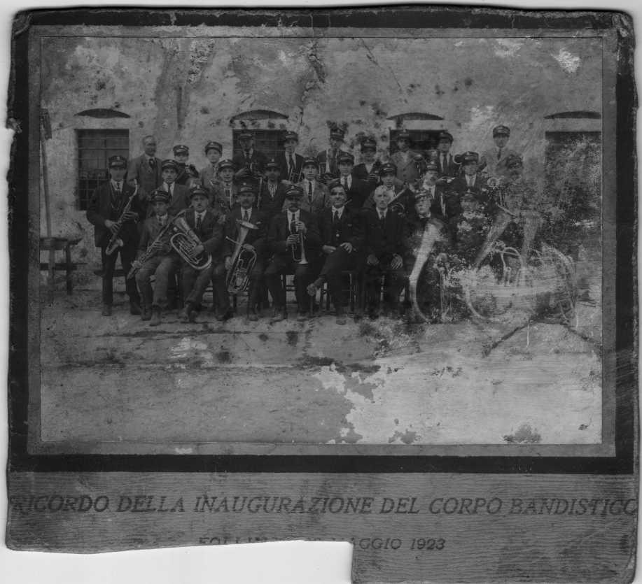Inaugurazione corpo bandistico1923_ridotta